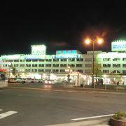 夜新潟駅に着きました