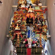 新天町の飾り山笠