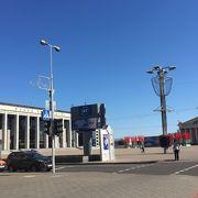 ミンスクの巨大な広場の1つ