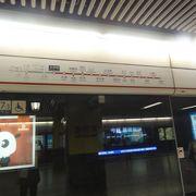 出口多い駅です
