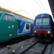 イタリアの国鉄です。