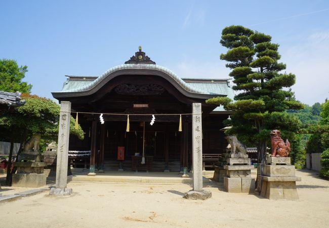 下津井の氏神「祇園さん」