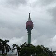 雑踏の風景とロ一タスタワー