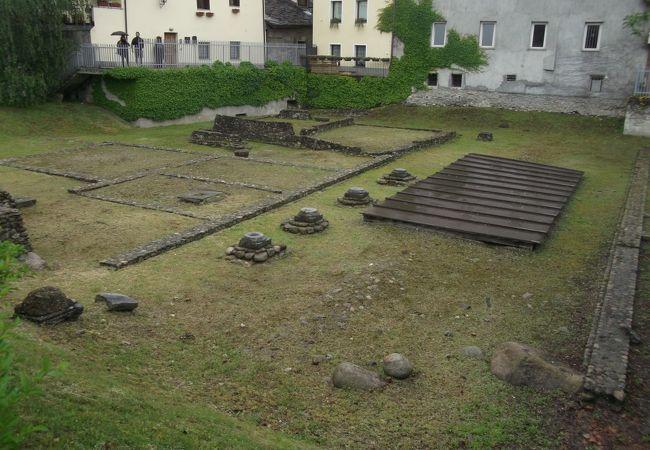 古代ローマ時代の遺跡が点在