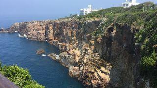 断崖絶壁の絶景
