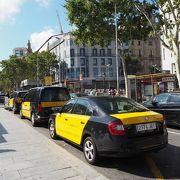 安くてバルセロナ市内観光の移動に便利