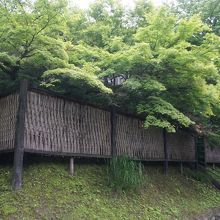 徳川家康が中山道沿いに造営した将軍専用の休泊所跡