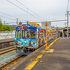 駅がローカルなら列車もローカルでした。