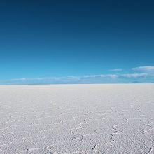 一面真っ白な大地