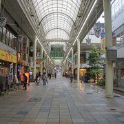 岐阜市内では一番の商店街が柳ヶ瀬商店街