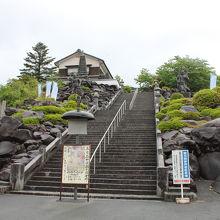 伊達家の祈願所として創建されたお寺