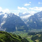 スイスらしい景色が広がる絶景ポイント