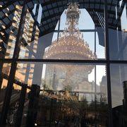 レストランや美術館