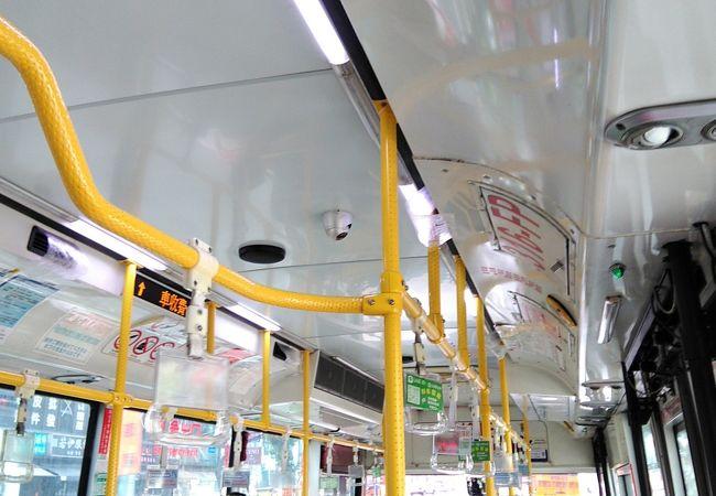 台北市から、新北市へにも、バスが出ています。