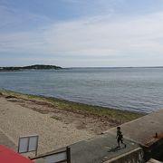 浜名湖のビーチ