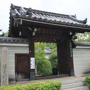 蓮の花が見事であり、歴史のある寺の風情に興味を覚えた