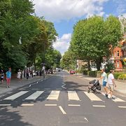 世界一人気のある横断歩道