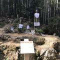 写真:熊野古道松本峠道