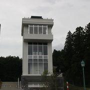 大湊港を望む展望台