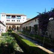 アルハンブラ宮殿にある庭園