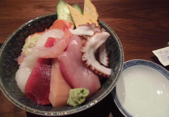 氷見の魚を食べてきました。