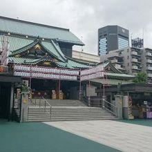 堂々たる寺院