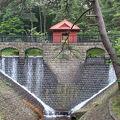 写真:旧大湊水源地水道施設(水源池公園内)