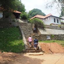 石窟寺院への入口