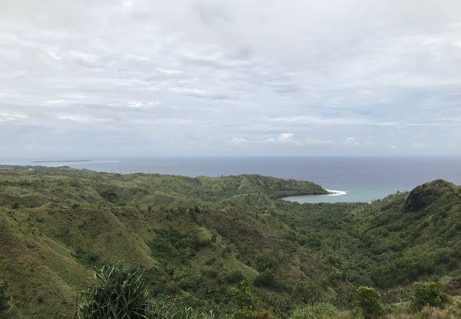 ココス島が見渡せます。
