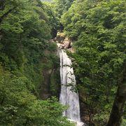 凛とした美しい滝