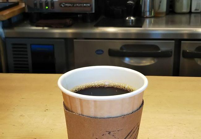 感じのいいカフェ