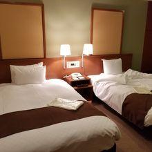ベッドの広さも十分