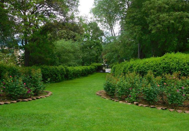 美しい庭園である上、フィレンツェの街を眺めるのに最高の場所です。