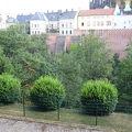 プラハ城の北にある濠を利用した公園
