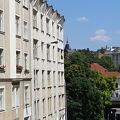 キュビズム建築のアパート