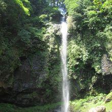 夏の滝景色
