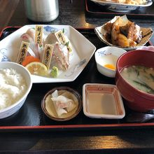 朝〆・熟成刺身食べ比べ定食