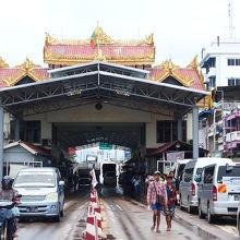 ミャンマー側のイミグレ