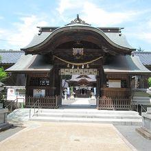 意外と立派な神社