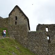 マチュピチュ遺跡一番の見晴らし