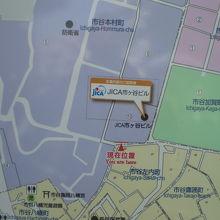 JICA地球ひろばの施設は、市ヶ谷の防衛省の北側にあります