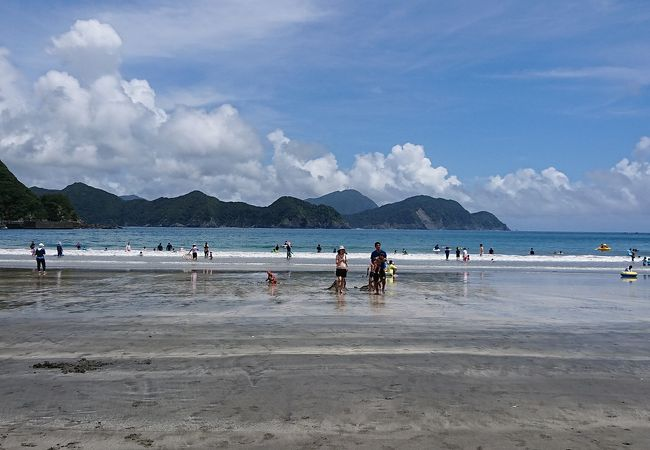 波当津海岸