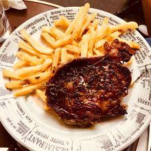ローズマリーのステーキ