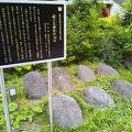 写真:成子天神社の力石