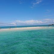潮が引いた時に現れる幻の島。すごく絶景です。