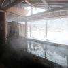 かわらの湯と囲炉裏端でいただく料理がとくにおすすめ