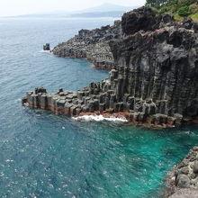 大浦海岸柱状節理帯
