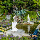 日比谷公園 第一花壇 ペリカン噴水