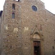 フィレンツェで最も古い教会のひとつ