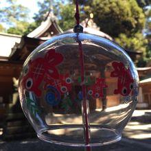 風鈴と神社